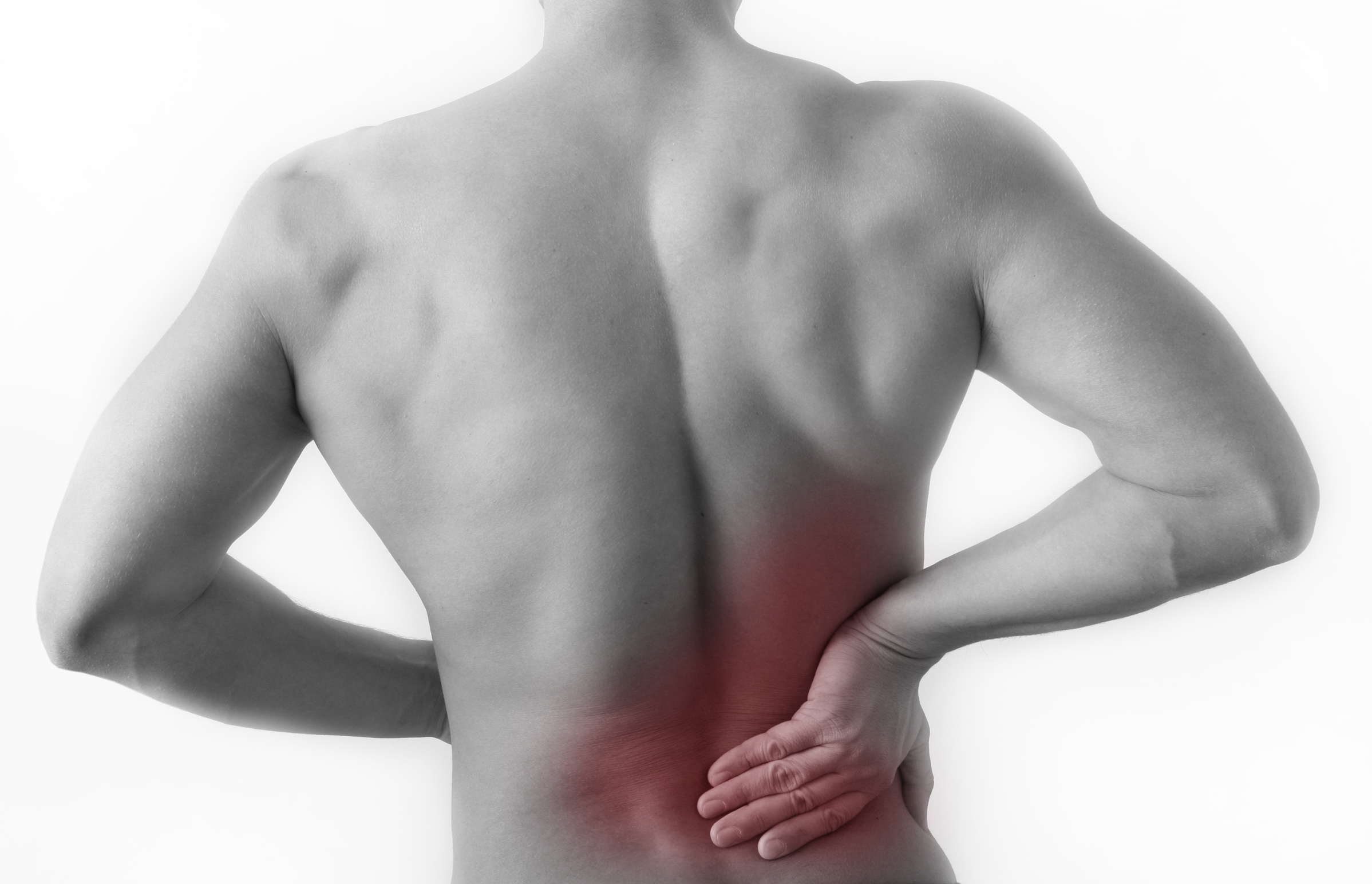 spanning spieren rug